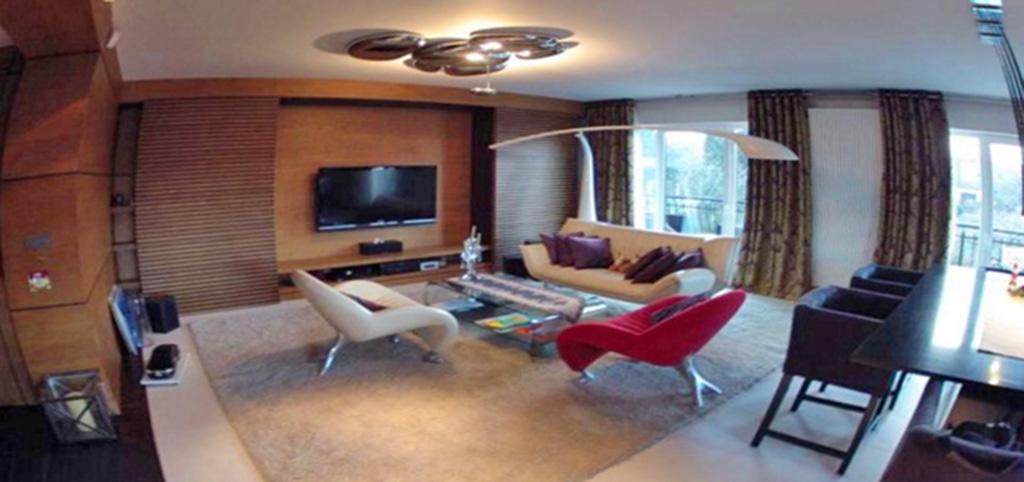zdjęcie przedstawia nowoczesne wnętrze apartamentu