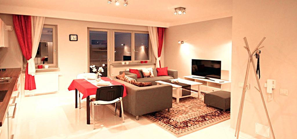 na zdjęciu apartament w centrum Szczecina na wynajem