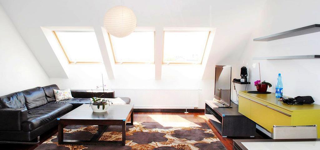 zdjęcie przedstawia salon apartamentu w Szczecinie na sprzedaż