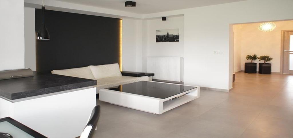 na zdjęciu apartament w Szczecinie na sprzedaż widok na salon 168-263-3