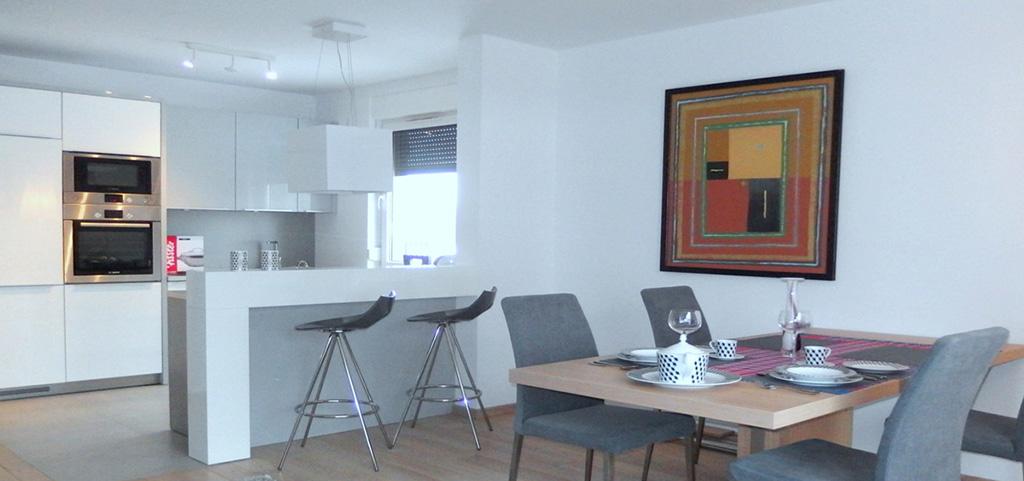 na zdjęciu apartament na wynajem we Wrocławiu Krzyki