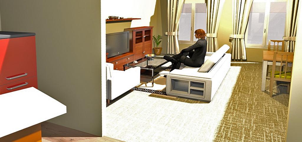 zdjęcie przedstawia wizualizację apartamentu na sprzedaż w Szczecinie