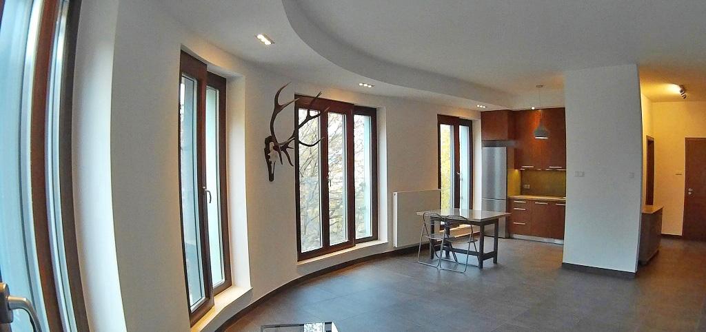 zdjęcie przedstawia wnętrze apartamentu w Szczecinie