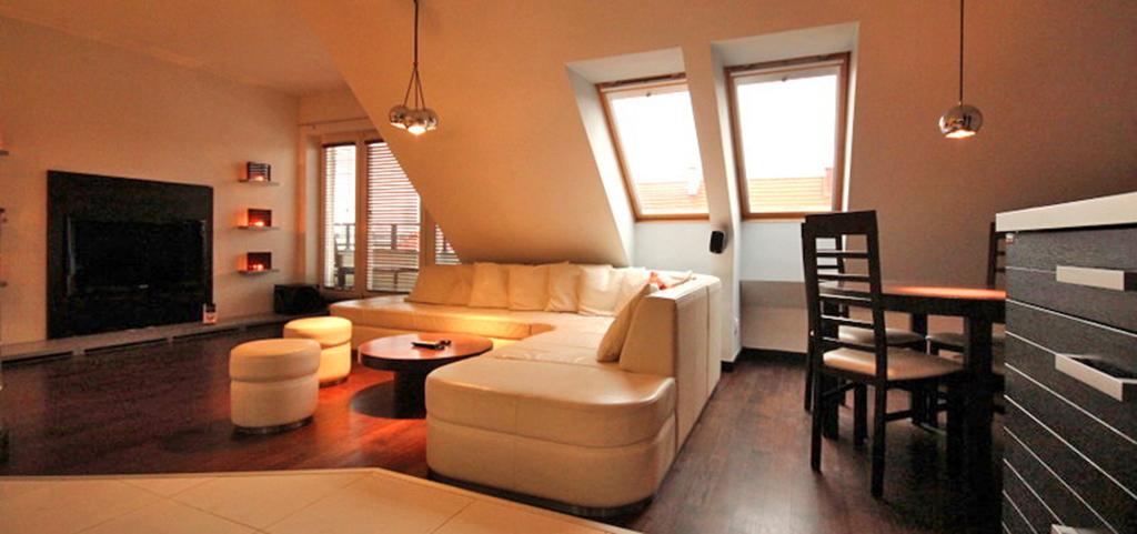 wnętrze ekskluzywnego apartamentu w Szczecinie na wynajem