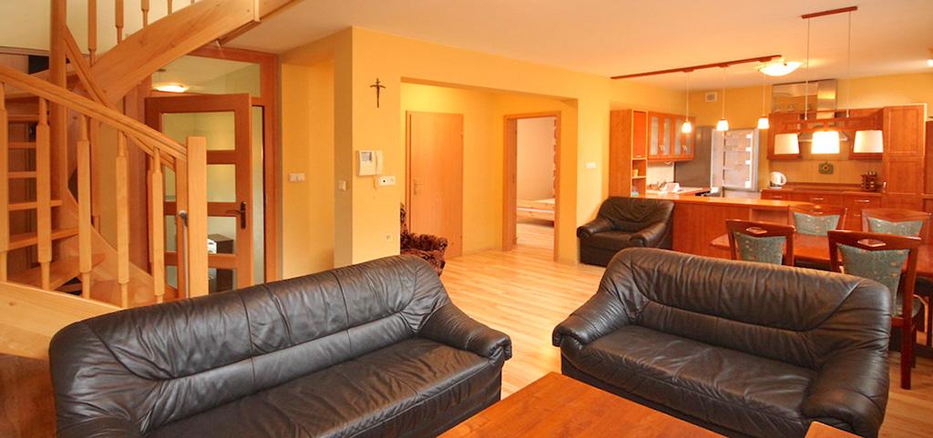 widok na wnętrze apartamentu do sprzedaży w Szczecinie