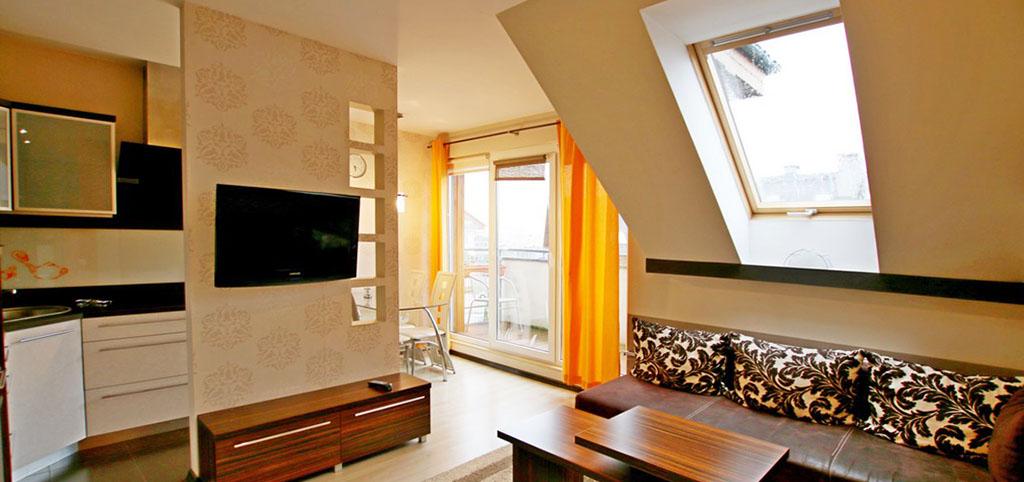 zdjęcie przedstawia luksusowy apartament w Szczecinie do wynajęcia