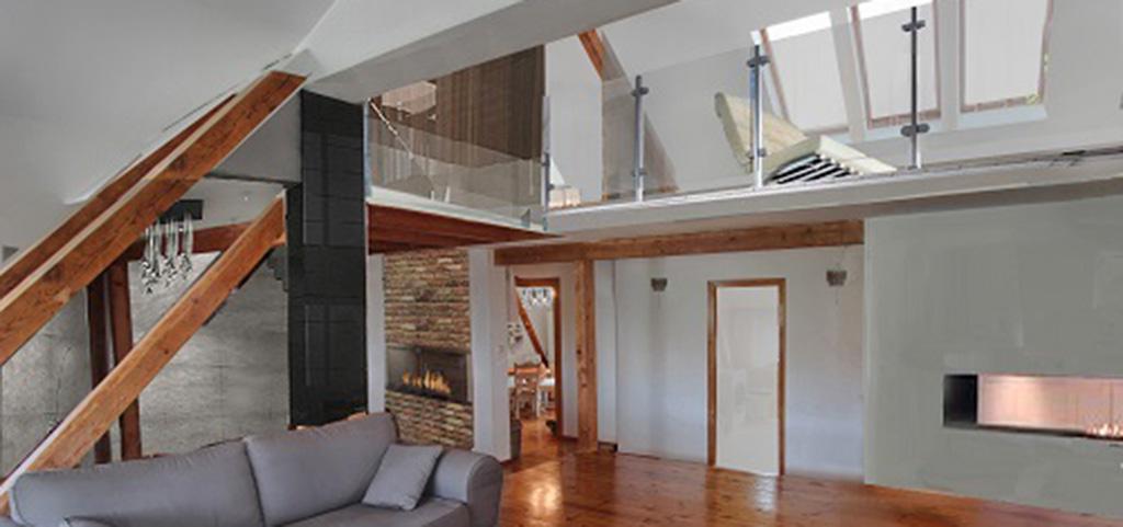 zdjęcie przedstawia wnętrze luksusowego apartamentu w Szczecinie (centrum)