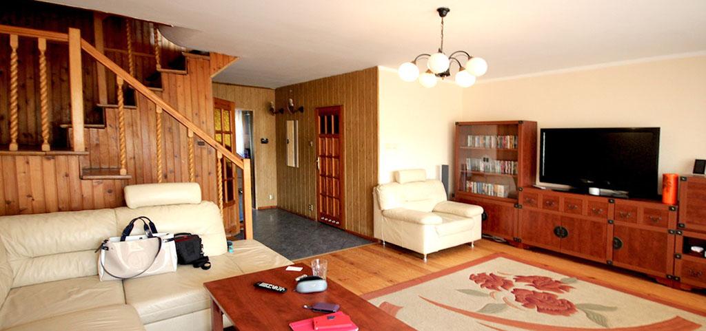 na zdjęciu rozkład pokoi w apartamencie na sprzedaż w Szczecinie