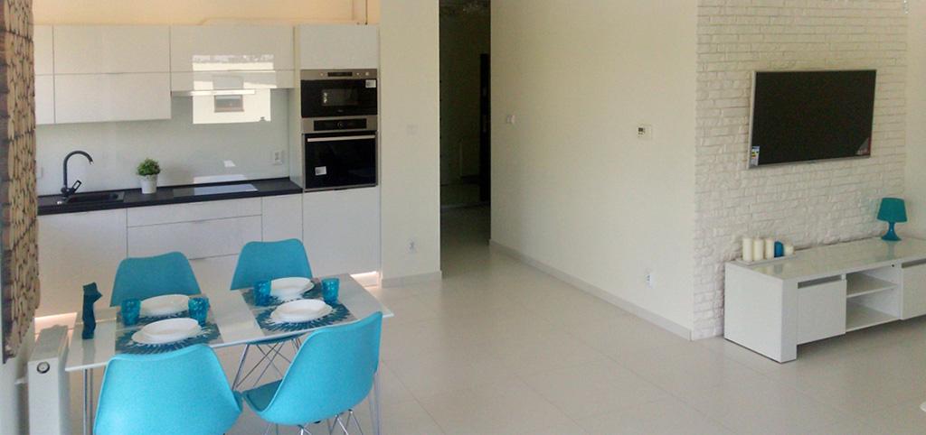 na zdjęciu duży pokój w apartamencie do wynajmu w Chorzowie