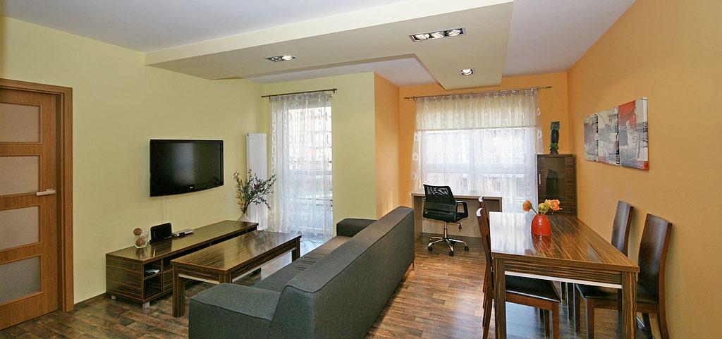 zdjęcie przedstawia apartament w Katowicach na wynajem