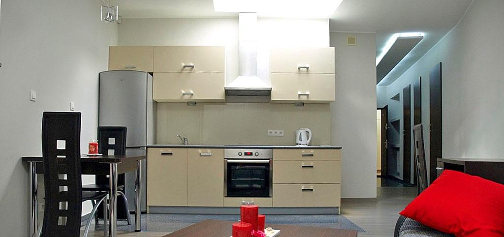 wnętrze ekskluzywnego apartamentu na wynajem w Szczecinie