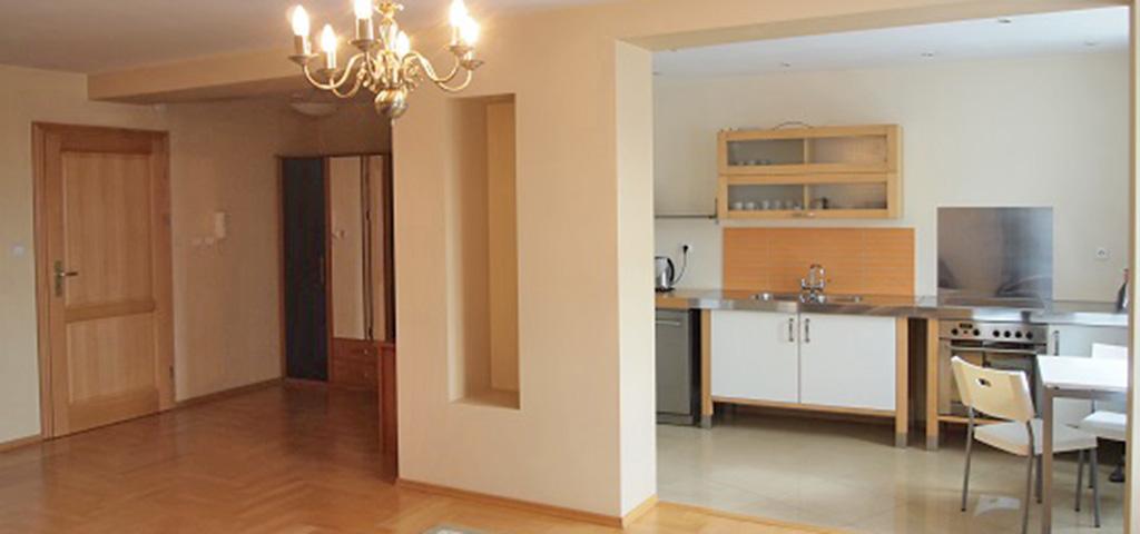na zdjęciu luksusowy apartament na wynajem w Szczecinie