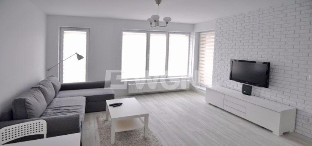 zdjęcie przedstawia salon w apartamencie w Szczecinie do wynajmu