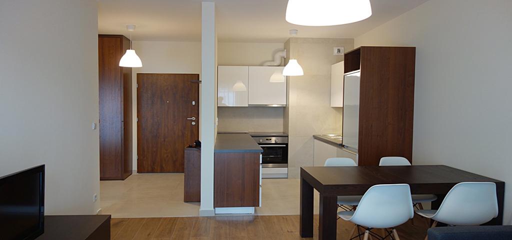 wnętrze apartamentu do wynajmu w Katowicach