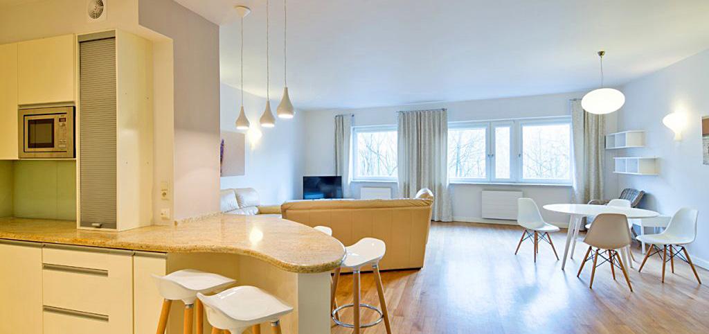 ekskluzywne wnętrze apartamentu do sprzedaży w Warszawie