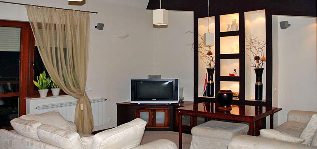 wnętrze luksusowego apartamentu na wynajem w Toruniu