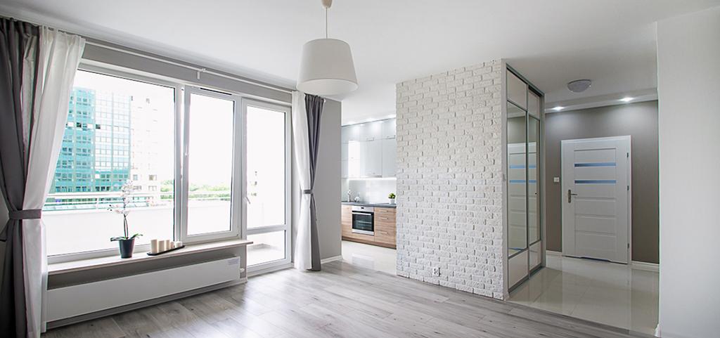 na zdjęciu wnętrze luksusowego apartamentu na sprzedaż w Białymstoku