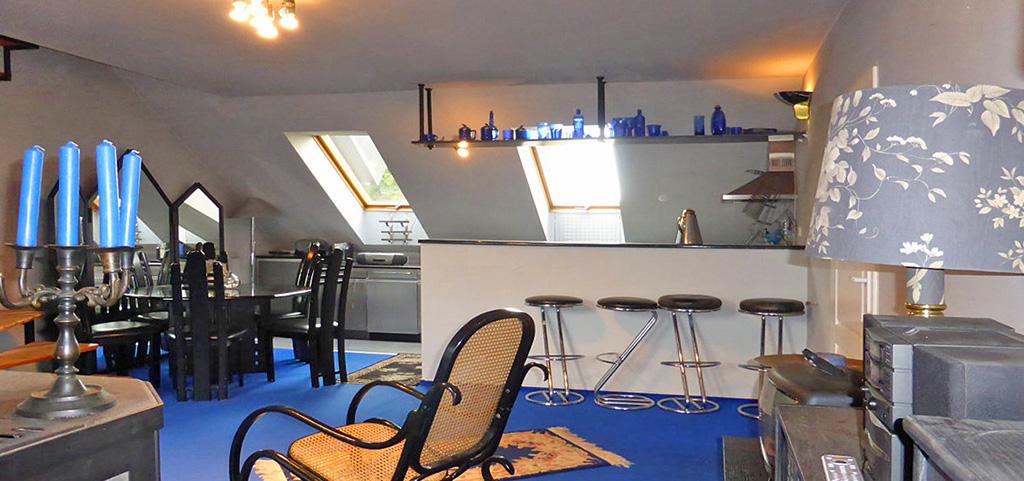 na zdjęciu luksusowe wnętrze apartamentu do wynajęcia w Kwidzynie