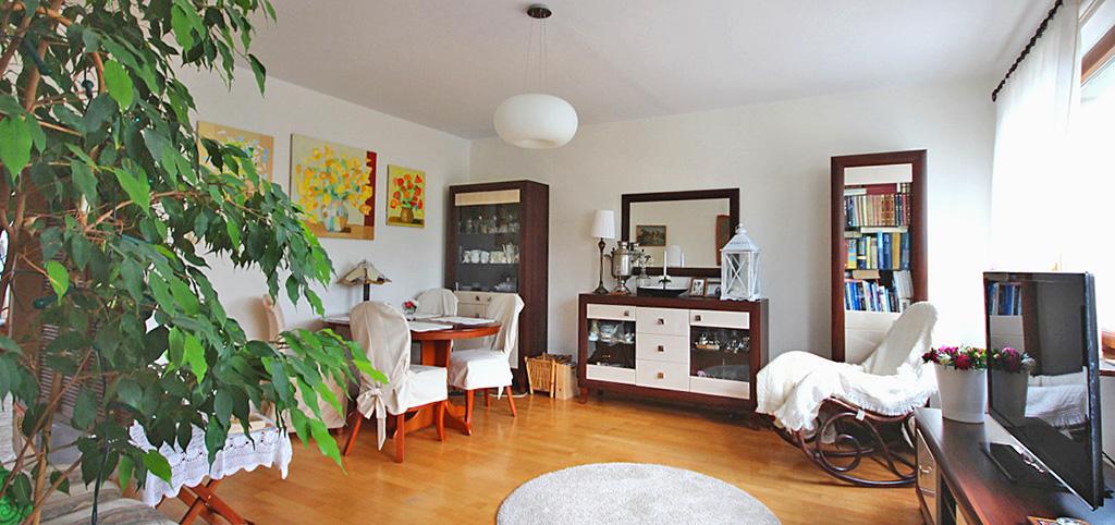 na zdjęciu wnętrze luksusowego apartamentu do sprzedaży w Szczecinie