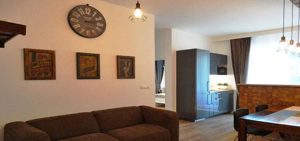 na zdjęciu wnętrze luksusowego apartamentu w Warszawie