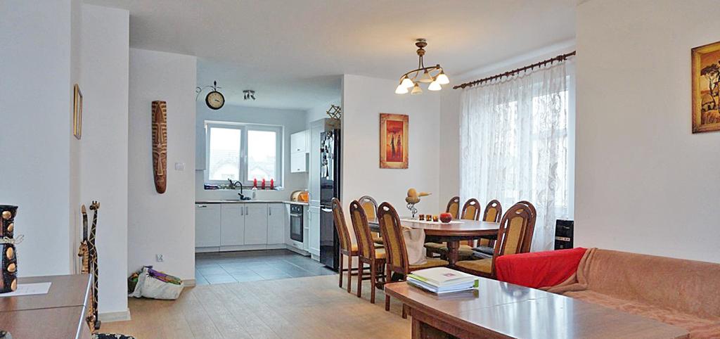 wnętrze ekskluzywnego apartamentu w okolicach Wrocławia na sprzedaż