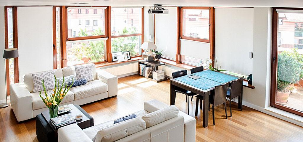 luksusowe wnętrze apartamentu we Wrocławiu do sprzedaży