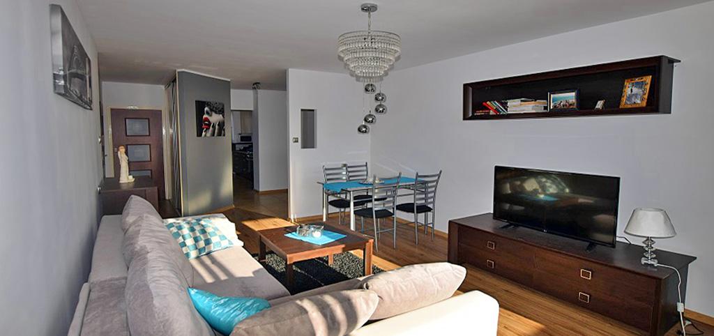 na zdjęciu ekskluzywne wnętrze apartamentu do sprzedaży w Białymstoku