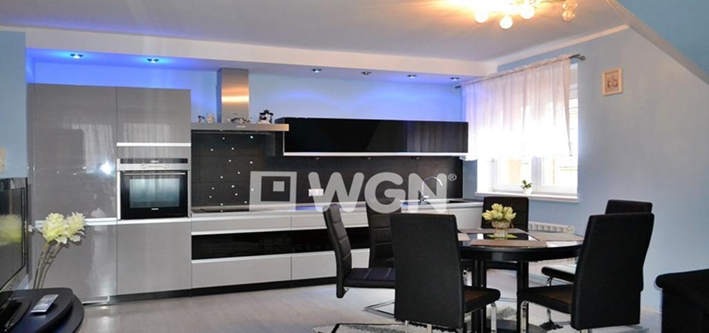 na zdjęciu luksusowe wnętrze apartamentu do wynajęcia w Bolesławcu