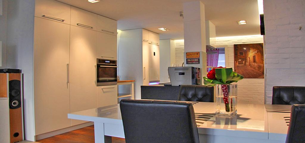 na zdjęciu wnętrze luksusowego apartamentu na sprzedaż w Częstochowie
