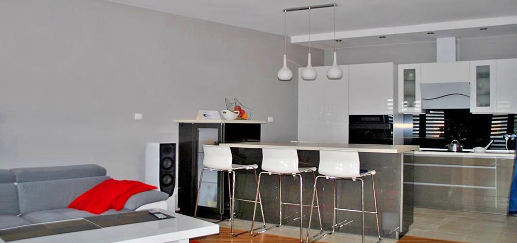 na zdjęciu wnętrze ekskluzywnego apartamentu do sprzedaży w Grodzisku Mazowieckim