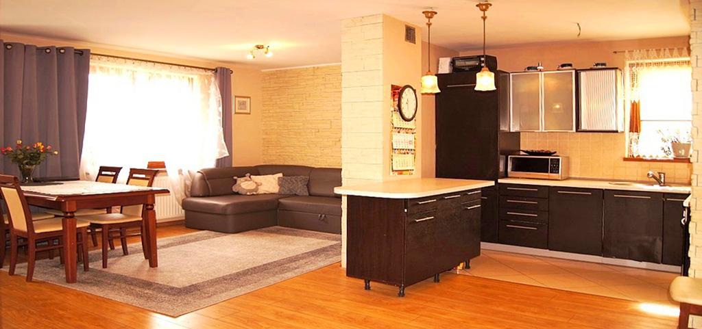 na zdjęciu luksusowe wnętrze apartamentu do sprzedaży w Inowrocławiu