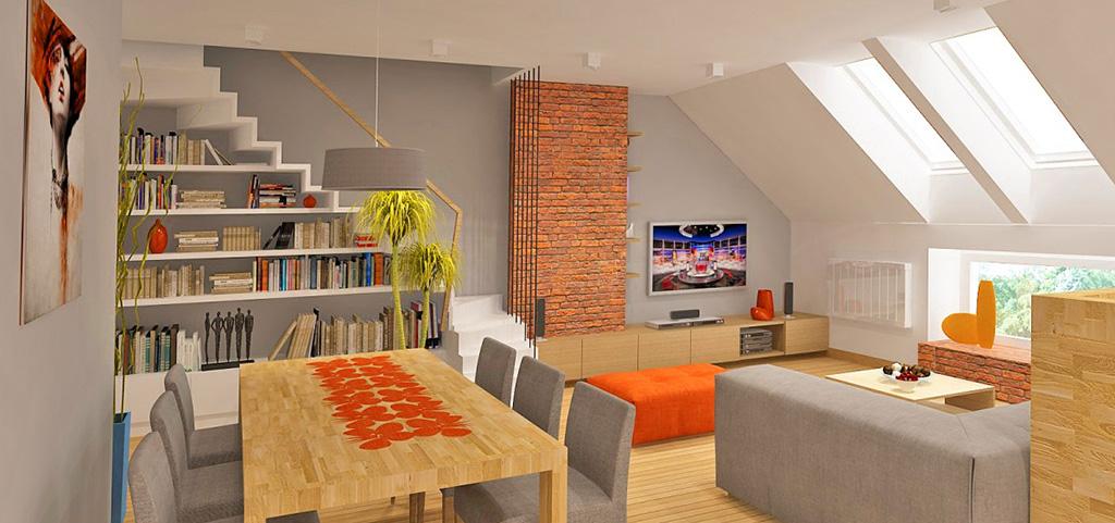 na zdjęciu wnętrze luksusowego apartamentu na sprzedaż w Mysłowicach