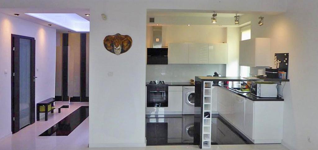 zdjęcie przedstawia wnętrze ekskluzywnego apartamentu na wynajem w Piotrkowie Trybunalskim