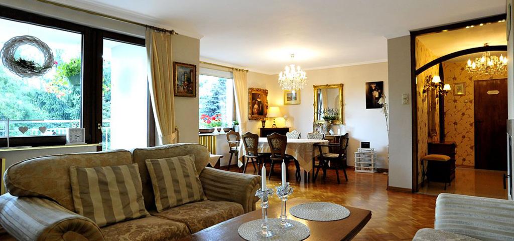 na zdjęciu wnętrze luksusowego apartamentu do sprzedaży w Sosnowcu