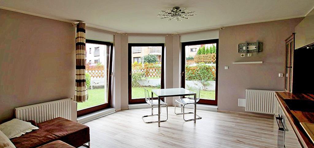 na zdjęciu wnętrze luksusowego apartamentu w Szczecinie do sprzedaży