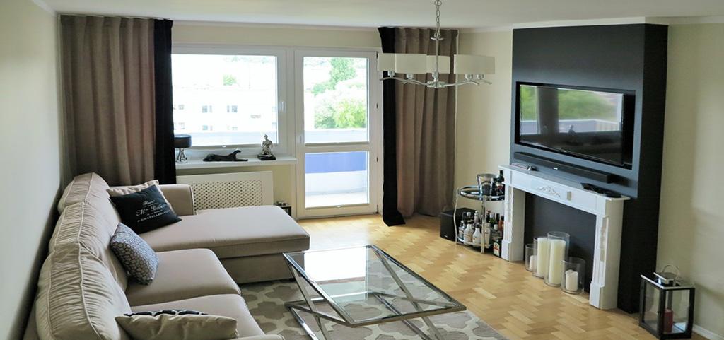 na zdjęciu wnętrze luksusowego apartamentu w Szczecinie na sprzedaż