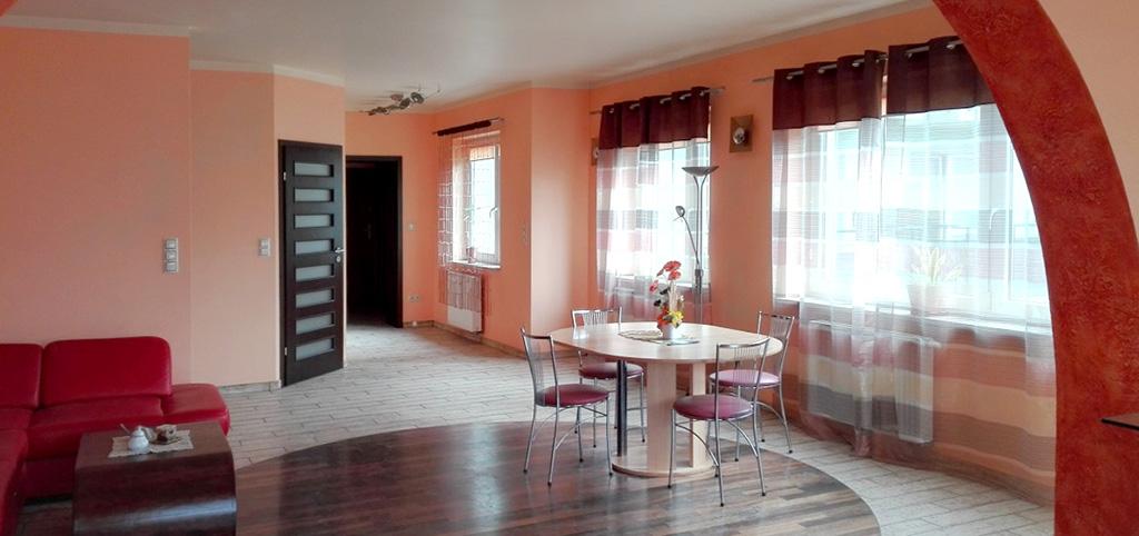 na zdjęciu wnętrze apartamentu do sprzedaży w Białymstoku