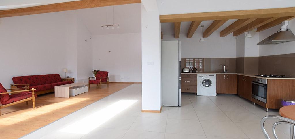 na zdjęciu wnętrze luksusowego apartamentu do sprzedaży w Suwałkach