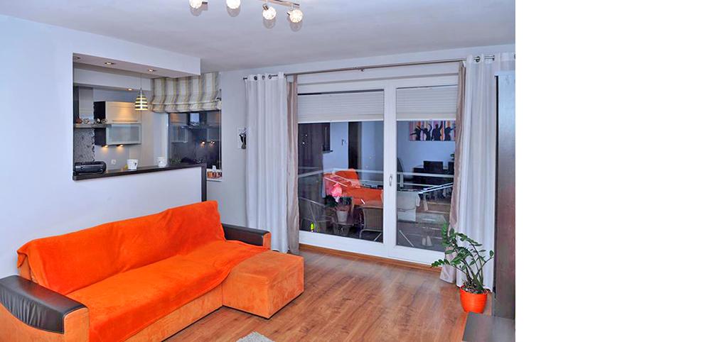 na zdjęciu wnętrze luksusowego apartamentu na sprzedaż w Szczecinie