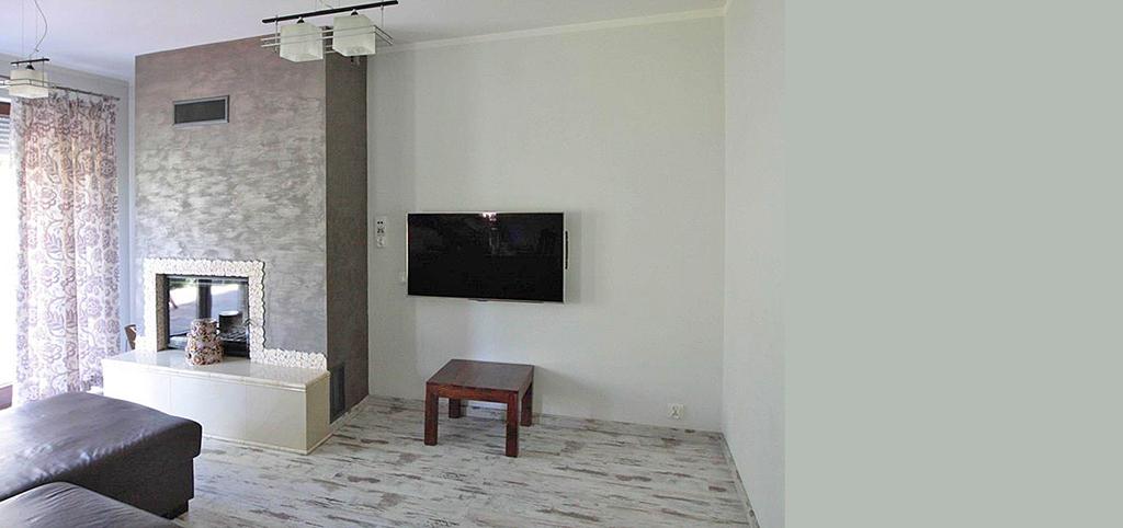 na zdjęciu salon w apartamencie do sprzedaży w Szczecinie