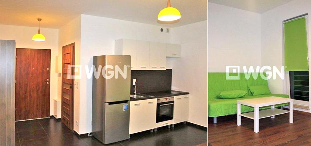 na zdjęciu widok na luksusowe wnętrze apartamentu do wynajęcia w Katowicach