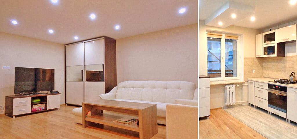 zdjęcie przedstawia wnętrze luksusowego apartamentu na sprzedaż w Olsztynie