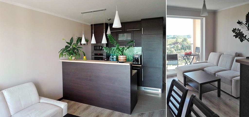 zdjęcie przedstawia wnętrze ekskluzywnego apartamentu do sprzedaży w Olsztynie
