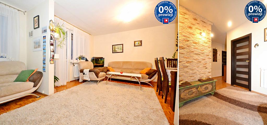 zdjęcie przedstawia salon w apartamencie do sprzedaży w Radomiu