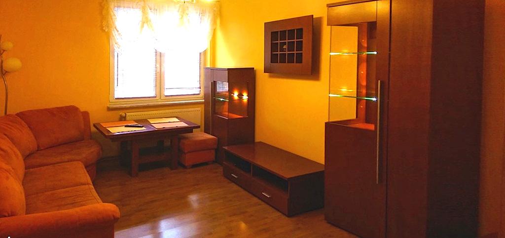 zdjęcie przedstawia salon w luksusowym apartamencie do wynajęcia za 1 400 złotych
