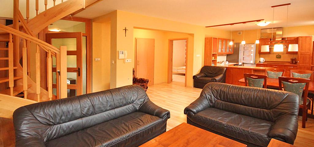 zdjęcie przedstawai ekskluzywne wnętrze apartamentu do wynajęcia w Szczecinie