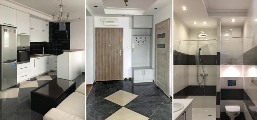 zdjęcie prezentuje luksusowe wnętrze apartamentu do sprzedaży w Białymstoku