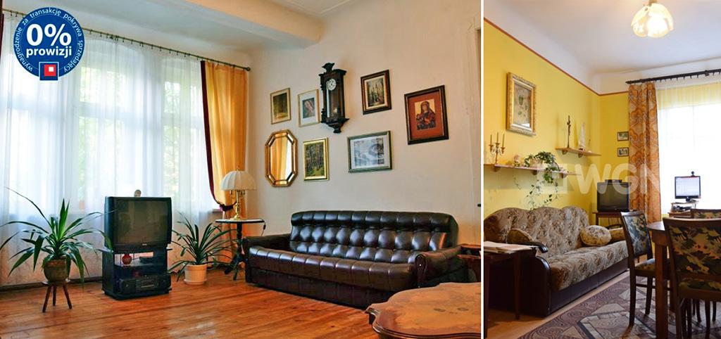 na zdjęciu ekskluzywny salon w apartamencie do sprzedaży w Legnicy