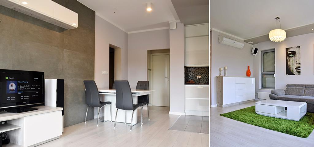 na zdjęciu ekskluzywne wnętrze apartamentu do sprzedaży w Legnicy