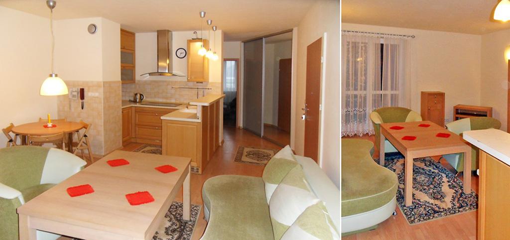 zdjęcie przedstawia wnętrze ekskluzywnego apartamentu do wynajęcia w Piotrkowie Trybunalskim